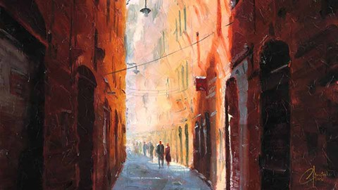 Sale : Udemy: Impressionism - Paint this Italy Scene in Oil or Acrylic