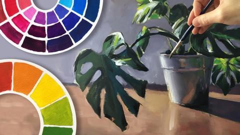 Netcurso-teoria-del-color-arte-de-mezclar-colores-pintura-realista