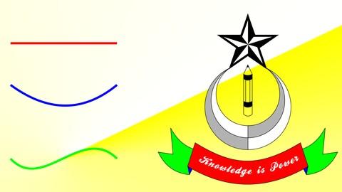 Netcurso-corel-draw-from-straight-line-to-a-logo