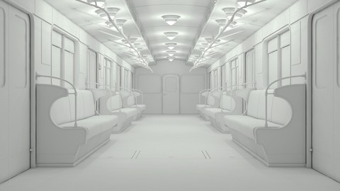 [Udemy Online Courses Free] – 3ds max making of subway train