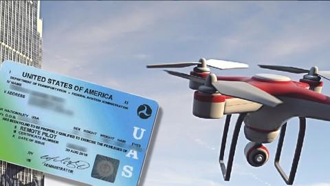 UAS FAR §107 FAA Drone Azterketa prestatzea
