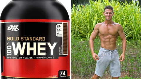 [Udemy Discount Coupon] – Muscle Building Whey Protein Course