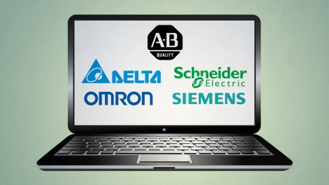 Training Course, Learn 5 PLCs in a Day-AB, Siemens, Schneider, Omron & Delta