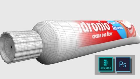 Netcurso-creacion-de-producto-publicitario-para-produccion-en-3ds-max