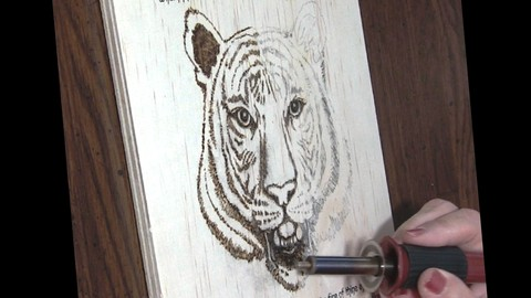Sale : Udemy: Super Woodburning & Pyrography Techniques
