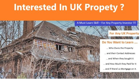 Learn how to find Property Owners in the UK