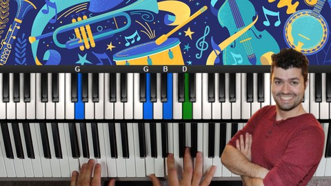Blues Piano Lessons! A Course In Blues Piano & Improvisation