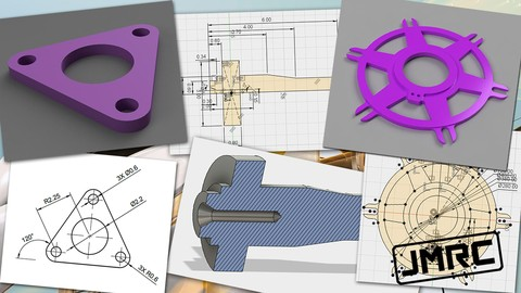(10) Ten 2D Drawings to Master 2D Sketching in Fusion 360