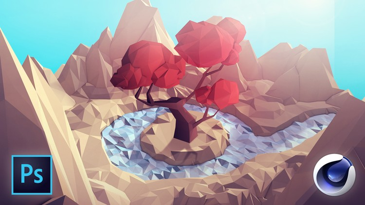 [100% Off UDEMY Coupon] – Learn Cinema 4D: Low Poly Tree