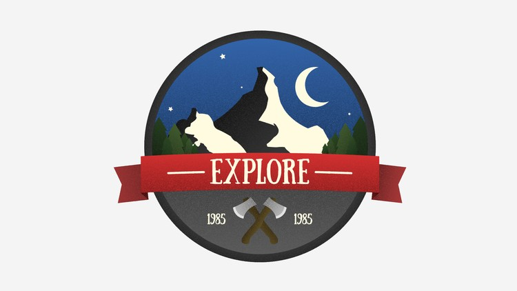 Design and Animate a Vintage Badge in After Effects
