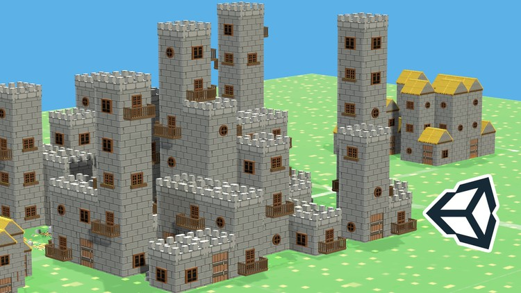 Unity 5 Build A System That Generates Houses U0026 Castles Auto ...