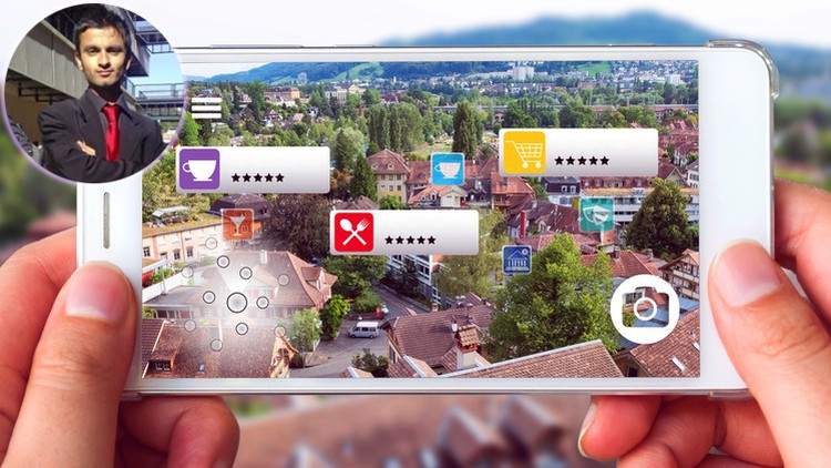 How to Develop 12 Vuforia Augmented Reality Apps in 2 hours! | Udemy