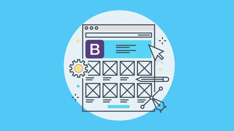 Master Bootstrap 4 (4 3 1) and code 7 projects with 25 pages | Udemy