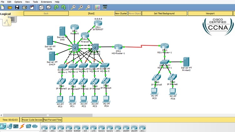 packet tracer networks