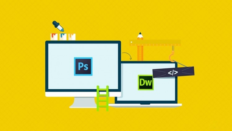 PSD To HTML Tutorial Using Photoshop And Dreamweaver | Udemy