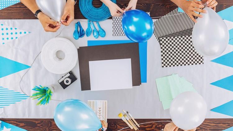 Decoración Con Telas Para Fiestas Y Eventos Udemy