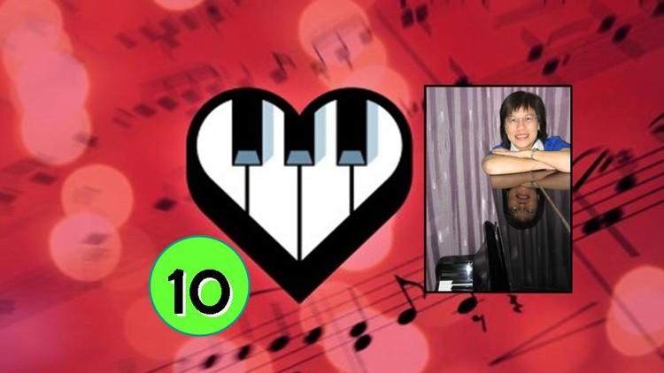 #10 Hand Coordination - Transfer Chord Ballad 9 - C & Bb Key