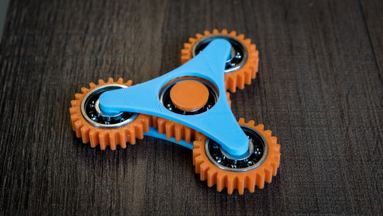 Fusion 360 for 3D Printing - Design Fidget Spinners | Udemy
