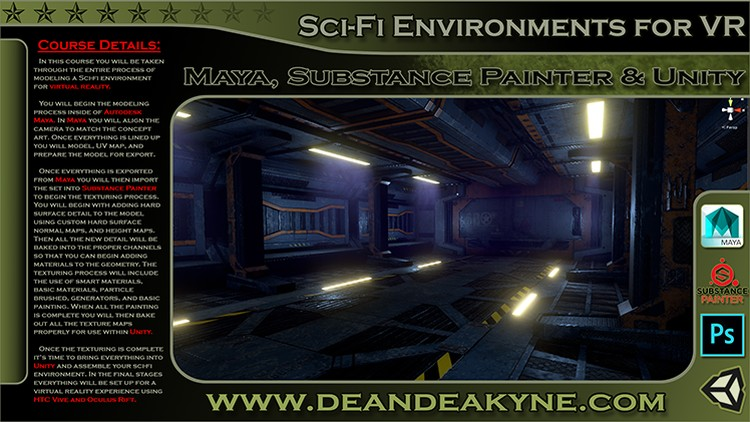 Sci-Fi Interior Environment Creation for Virtual Reality | Udemy