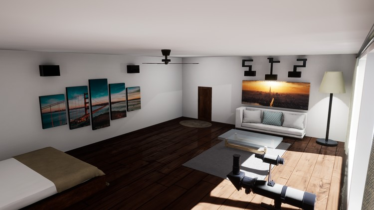 Create an Apartment Scene in Blender and Unreal Engine | Udemy