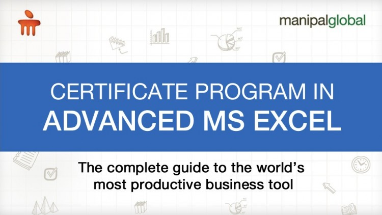 Certificate Program in Advanced MS Excel | Udemy