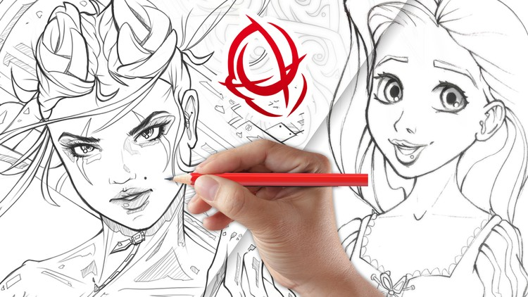 The Complete Drawing Course: Draw Characters Like a Pro! | Udemy