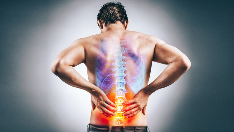"""Radiofrequency ablation works by applying an electrical current and """"frying"""" these nerves - meaning they can no longer shoot up pain signals from your back"""