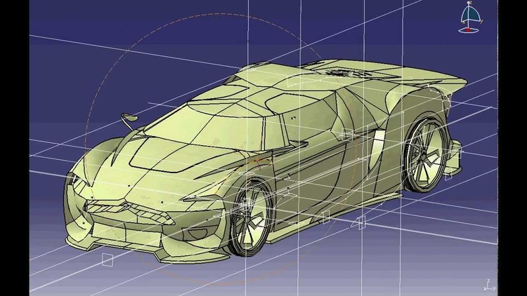 Industrial CATIA V5 R20: Deep Learning All In One from A- Z