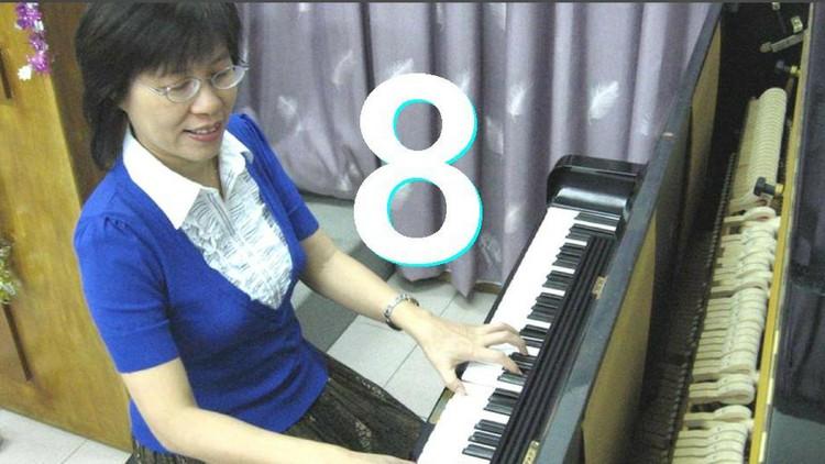 #8 Piano Trick:  Rosa's 3T6 Handshape  EZ RH Chord Inversion