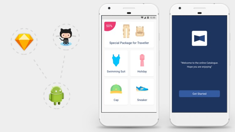 Fashion App: From Sketch to Android Studio | Udemy