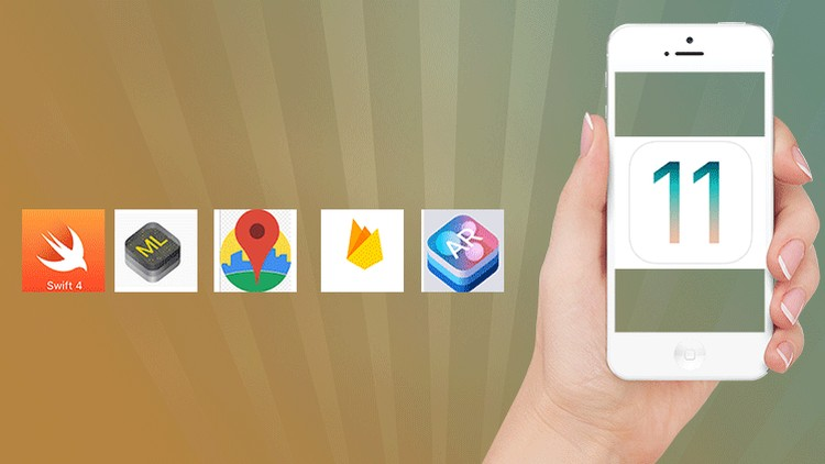 iOS11 & Swift 4 Bootcamp - Build Amazing iPhone Apps | Udemy
