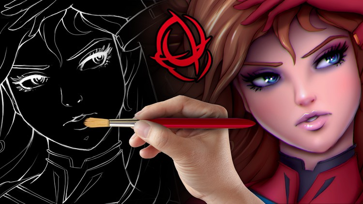Character Art School: Complete Coloring and Painting Course   Udemy