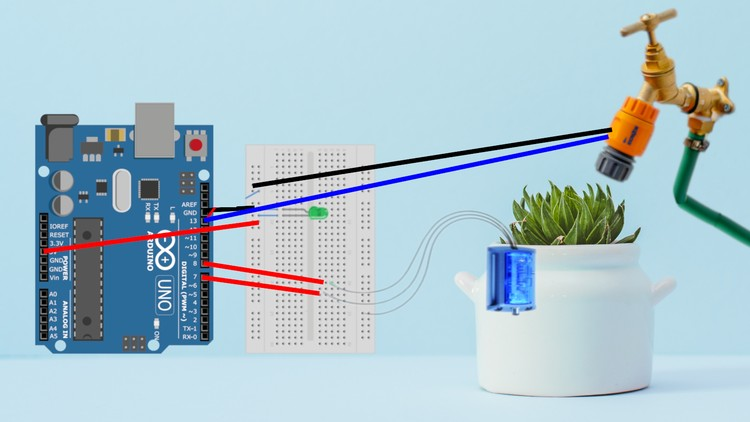 Automatic Irrigation System with Arduino | Udemy