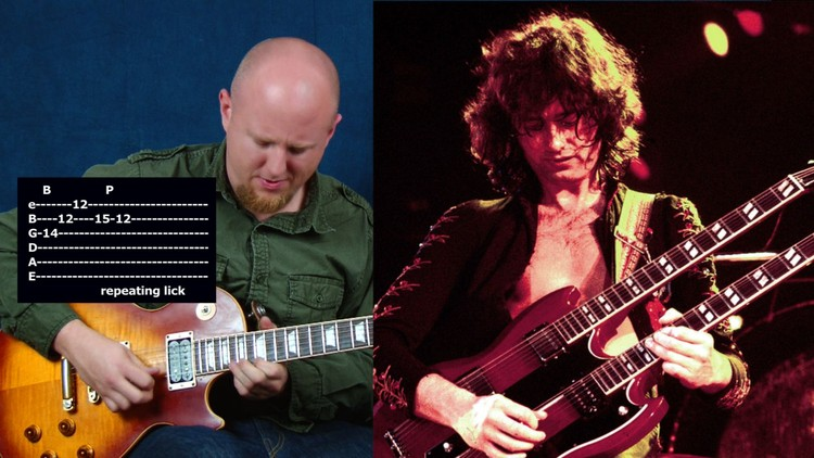 Learn guitar in the style of Jimmy Page from Led Zeppelin