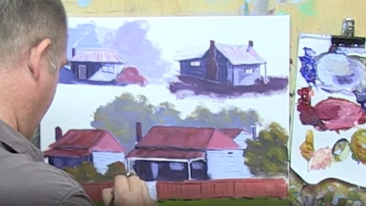 Acrylic Painting Techniques For Landscape Course Udemy