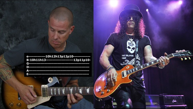 Learn lead & rhythm guitar in the style of Slash | Udemy