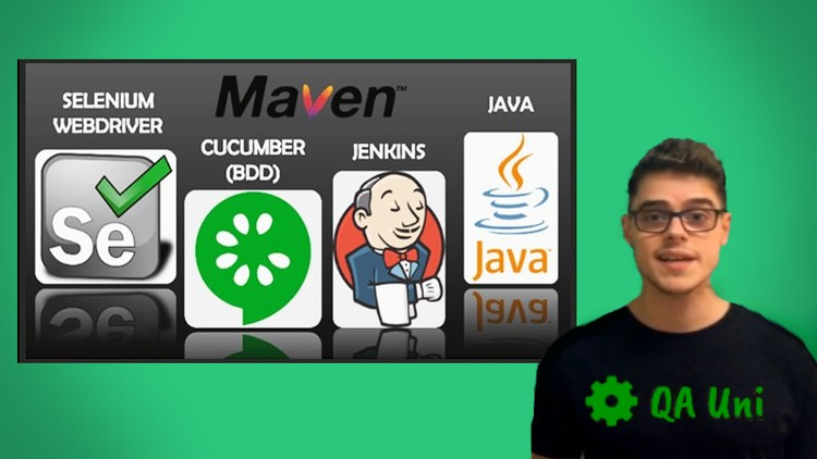 Selenium WebDriver – Java, Cucumber BDD & more. Full Course!
