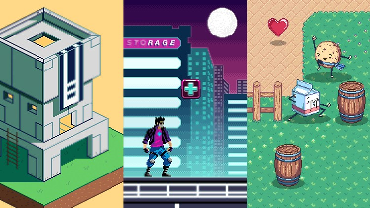 Pixel Art Mastery The 1 Course On Retro Video Game Art