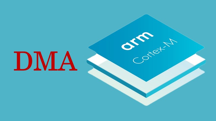 ARM Cortex M Microcontroller DMA Programming Demystified | Udemy