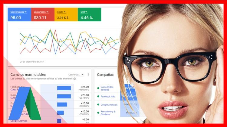 ADWORDS Acelerado y Prctico *Nueva Interfaz* Google AdWords