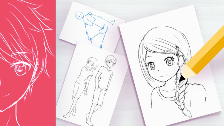 Learn How To Draw Anime Today The Ultimate Beginners Course Udemy