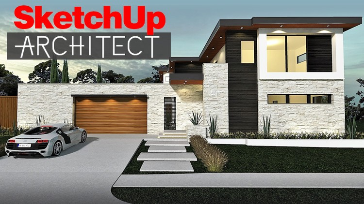 Sketchup Architect From 2D to 3D | Udemy