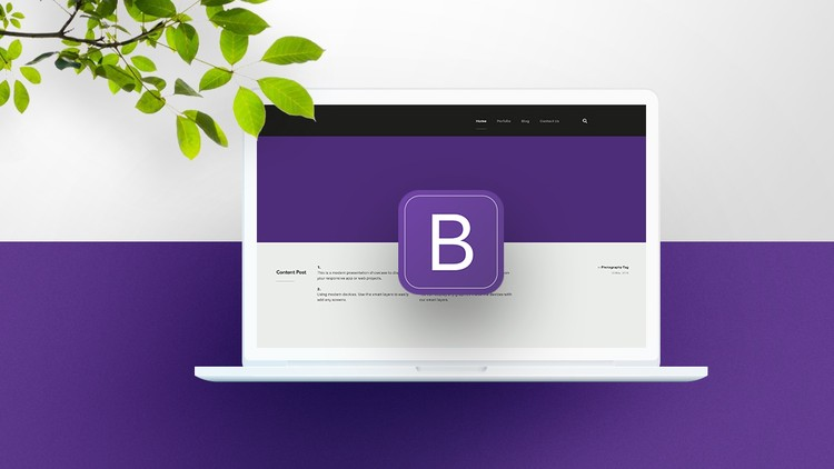 Bootstrap 4 ile Sıfırdan Harika Web Projeleri Oluşturun
