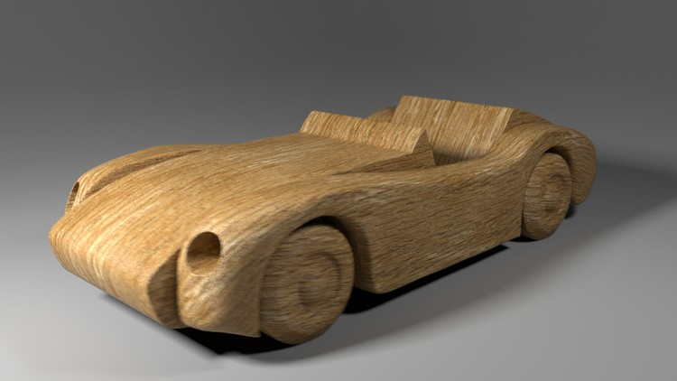 Create and Render a Wooden Toy Car in Autodesk Maya 2018 | Udemy