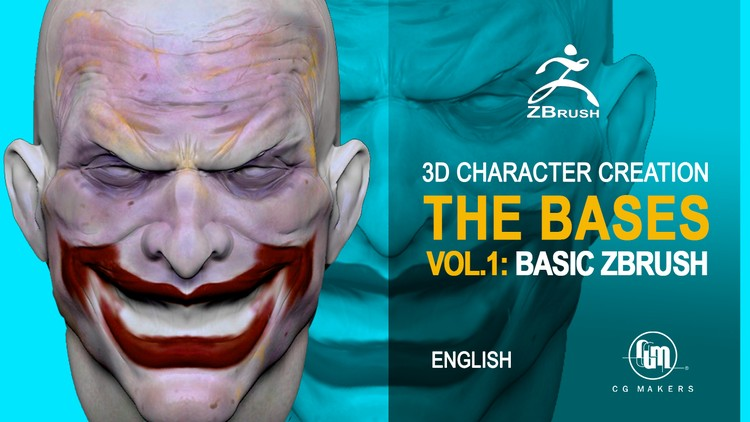 3D Master, from zero to hero Vol.1: Zbrush Basics