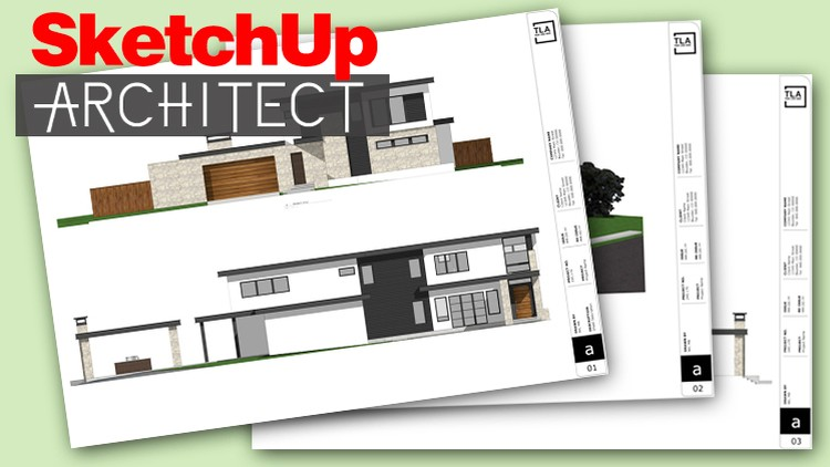 SketchUp Architect Pro Tips for Layout to Autocad and more | Udemy