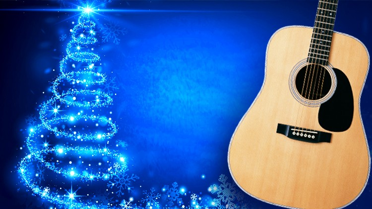 Christmas Songs on the Guitar Course - Merry Christmas!