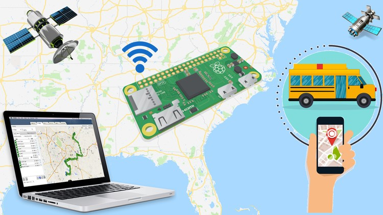Build your own GPS tracking system-Raspberry Pi Zero W 2019 | Udemy