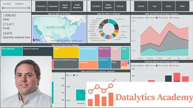 Microsoft Power BI Desktop - Data Analytics with Dashboards | Udemy