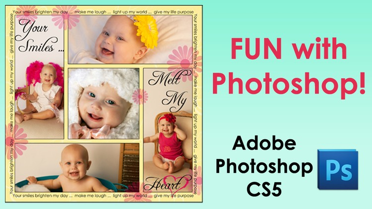 How to make a collage of pictures in photoshop elements